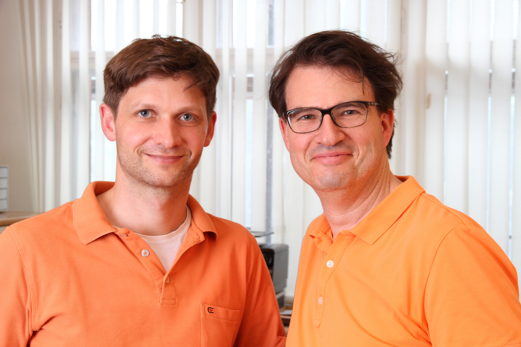 Dr. med. Christopher Marchand und Michael Hoffmann